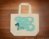 Tote Bag - Lg. - Hawaiian Islands