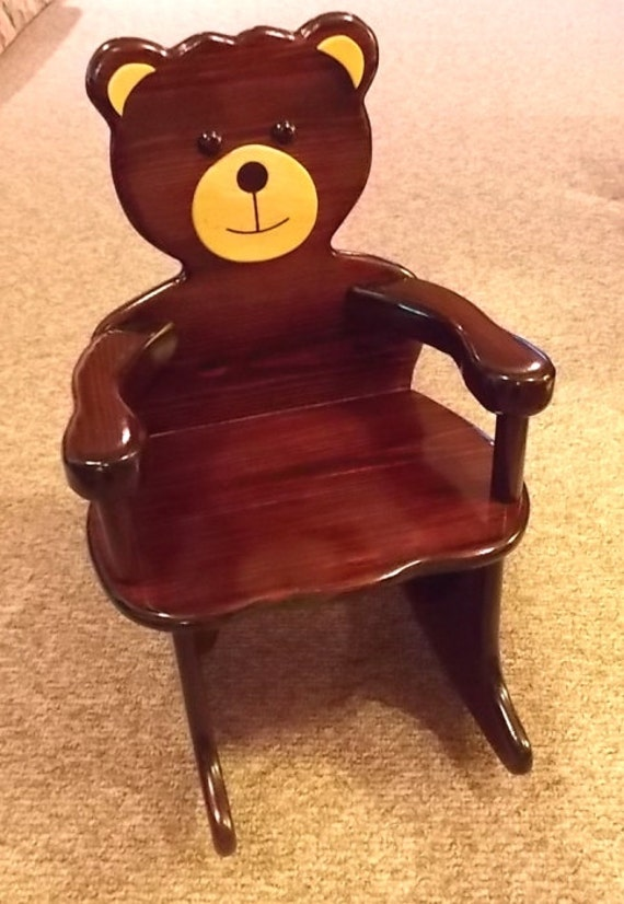 teddy bear rocking chair. Black Bedroom Furniture Sets. Home Design Ideas