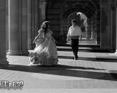 8x10 Little Mermaid Princess & Prince Inspired Photo Print (Traci Hines and Leo Camacho)