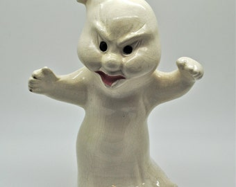 Vintage Ceramic Ghost - Halloween - Ghost - Spooky - Goblin - Old Ghost Mold - Collectible - Halloween Decoration