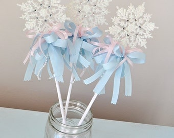 Winter Wonderland Snowflake Wand