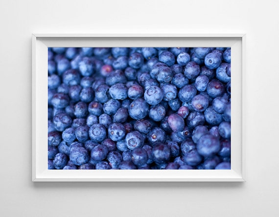 Https Etsy Com Listing 85637565 Blueberries Food Photography 8x12 Fine