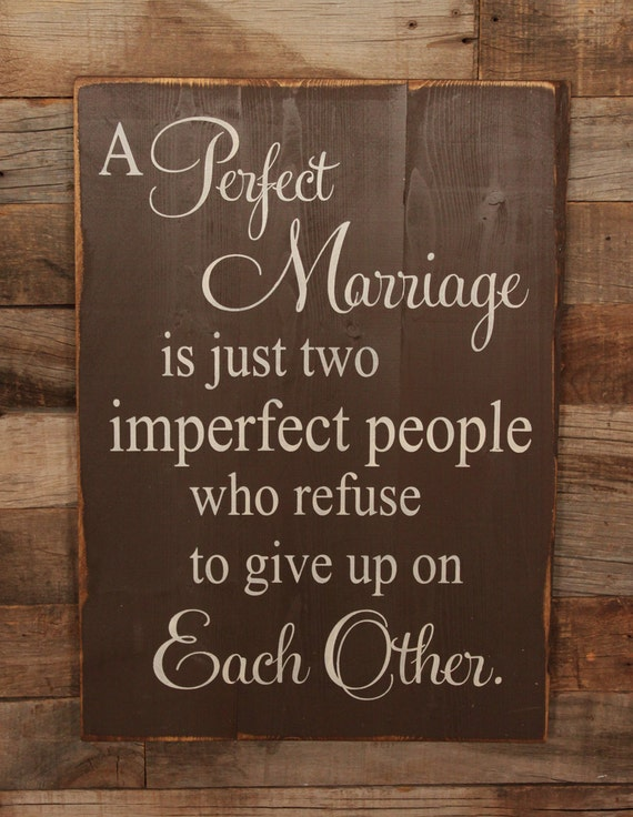 Large Wood Sign A Perfect Marriage Subway Sign By