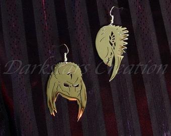 Alien VS Predator Stainless Steel Earring Set