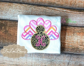 Turkey Diva 2 - Thanksgiving outfit - Fall - turkey - gobble - monogram - personalize -