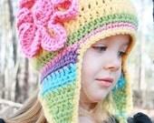 CRoChet PAtTerN, Crochet Hat Pattern, Instant Download, Child Hat Pattern, Pattern Crochet Hat, Crochet Child Hat Pattern