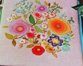 Crewel Embroidery Pattern Flower Garden Bouquet