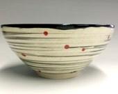 Modern Spiral Galaxy Ceramic Bowl