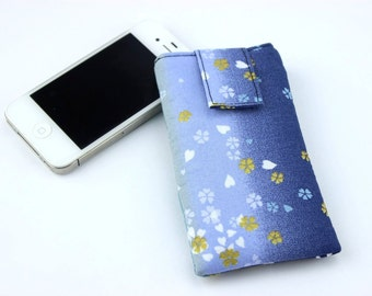 SALE iPhone 5c Cover, Gift For Her, Teacher's Gift Idea, Gradation Navy