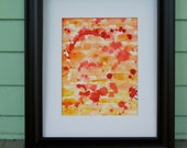 Abstract Original Painting will add Pop to your  Decor
