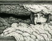 Clouds Gather Round Me (In The Morning I'll Be Gone) - Original Intaglio Print