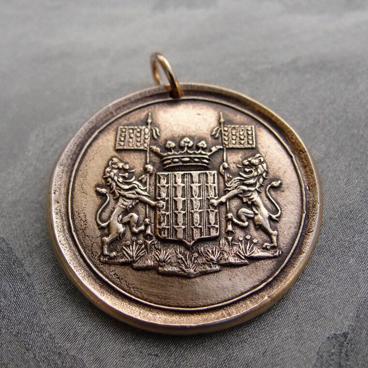 Q Lion Crest Seal Lion crest wax seal pe...