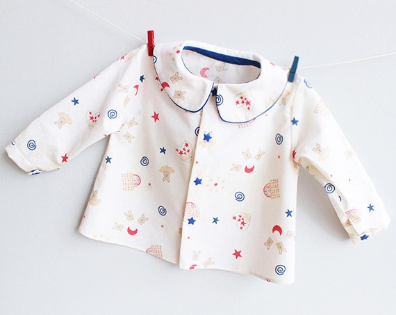 Little Stars Boy Girl Shirt Pattern Pdf Sewing Pattern