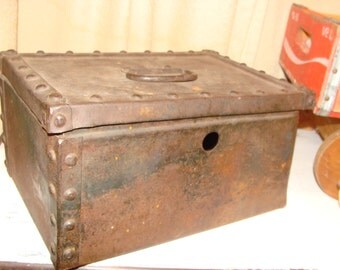 Hand-Made Soldered Metal Tool Box