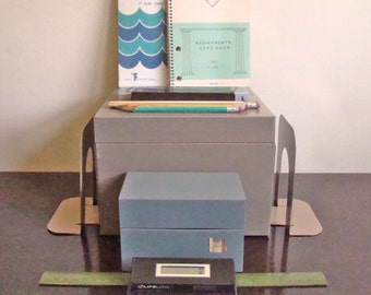 vintage office supplies: Industrial Office Instant Collection 6 The Student / New Year get organized