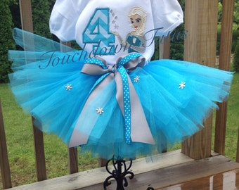 Elsa birthday outfit Pick your number 1-9