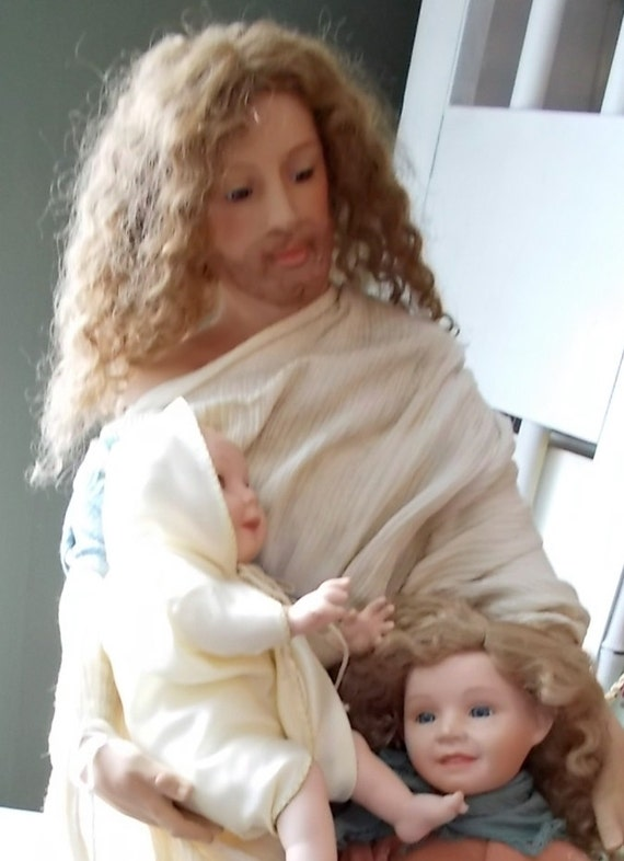 Ashton Drake Jesus Doll Let The Little Children Come To Me