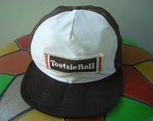 Vintage 70's Tootsie Roll Candy Baseball Cap Hat FUN Stuff!