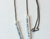 Michael Jackson Jewelry // Wanna Be Startin' Somethin' Necklace // Thriller // Pop Music Jewelry // Statement Necklace // Chain Necklace
