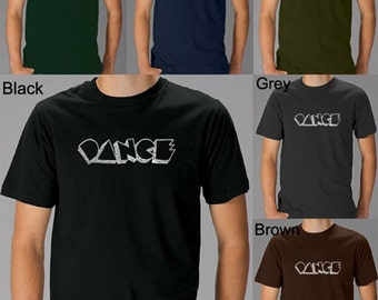 Men's T-shirt - Created using different styles of Dance.