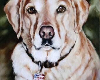 Custom Pet Portrait, Custom Pet Portrait, Animal Art, Custom Paintings, Oil Painting, 8x10