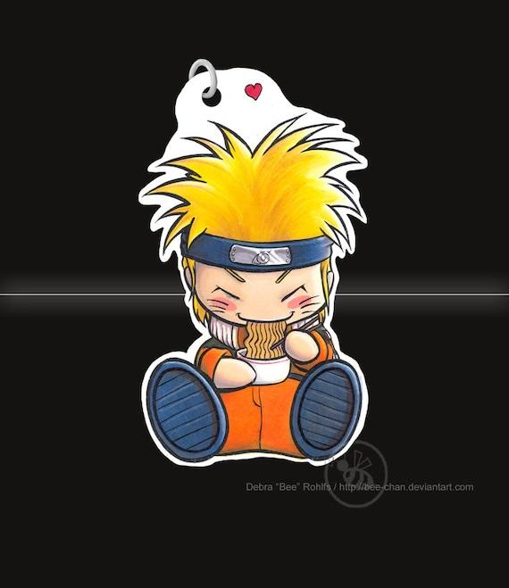 Chibi NARUTO from Naruto keychain / phone charm