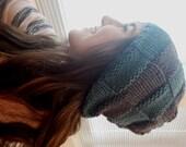 PATTERN:  Becca's Slouchy Knit Hat
