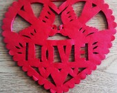 2 Corazon Banners - Wedding Banner - Any Occasion - Amor - Love - Valentine