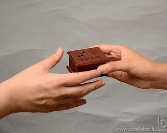 Gift for pianist piano lovers piano teacher piano player music box Hungarian Raphsody Franz Ferenc Liszt