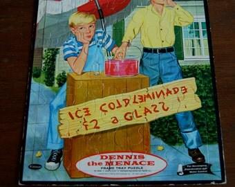 Vintage Puzzle, Dennis the Menace Whitman Puzzle