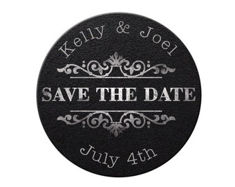 Save the Date, Save the Date Magnet, Custom, Personalized, Wedding Announcement, Getting Married, Wedding Save the Date, Magnet (3786)