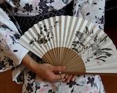 TROUT GYOTAKU Sensu Japanese Hand Fan  - Unique and Beautiful
