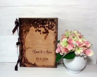 Guest Book, Personalized Wedding GuestBook, Guest Books,Personalized Album, Wedding Guest Books, Bride and Groom