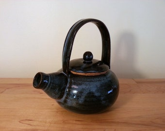 Speckeled Teapot, Blue