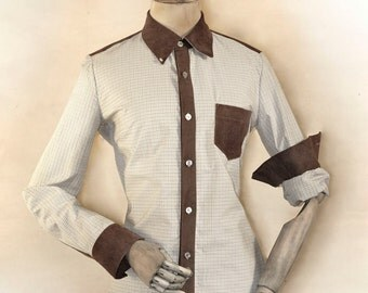 checked shirt in Western Look