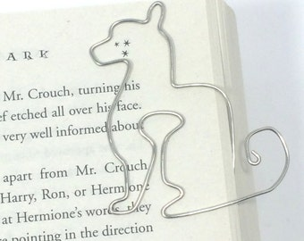 Cat Bookmark Paperclip