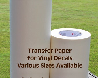 "6.5"" x 100 yds Transfer Tape Rolls - RTape High Tack Application Tape"