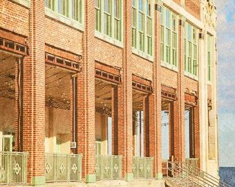 Asbury Park NJ Art - architecture photo - Fine Art Photograph - Jersey Shore - Convention Hall