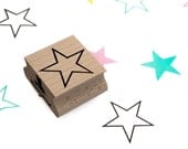 Star outline stamp