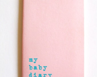 Baby Diary notebook; MOLESKINE®  journal for Mums Dads and their babies