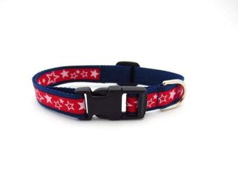 Small Shooting Stars Dog Collar
