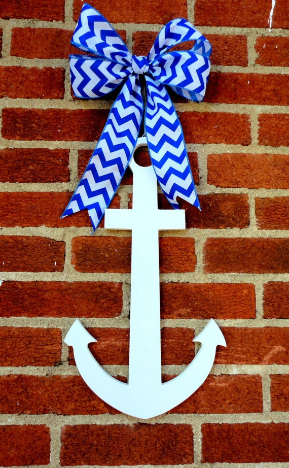 Items similar to three available wooden anchor anchor for Anchor door decoration