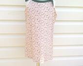 Girls Dress - Sun dress Size 18m to 24m Peach Flowers