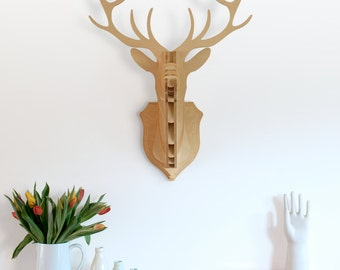 Deer Head Stag Trophy (Large)