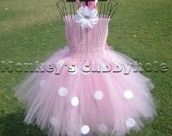 Minnie Mouse Pink Tutu Dress
