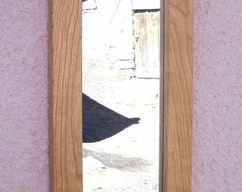 Decorative Mirror, Arts and Crafts, Mission Style, Raven Tile,  Wedding/Heirloom/Anniversary