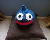 Dragon Quest Crochet Blue Slime / Cosplay Slime / Plushy Slime