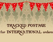 Tracked & Insured Postage for INTERNATIONAL Orders - Shipping to EU, US and Rest of World