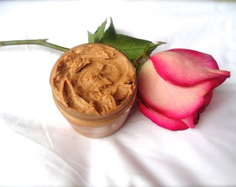 Bronzing Whipped Body Butter, Natural Self Tanning Lotion