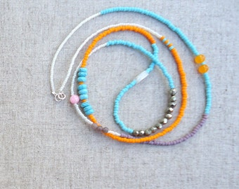 Turquoise Layering long necklace
